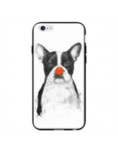 Coque Clown Bulldog Chien Dog pour iPhone 6 - Balazs Solti