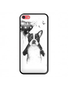 Coque Lover Bulldog Chien Dog My Heart Goes Boom pour iPhone 5C - Balazs Solti