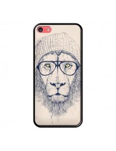Coque Cool Lion Lunettes pour iPhone 5C - Balazs Solti