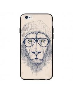 Coque Cool Lion Lunettes pour iPhone 6 - Balazs Solti