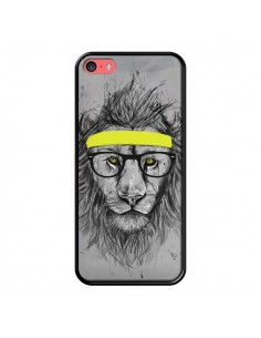 Coque Hipster Lion pour iPhone 5C - Balazs Solti