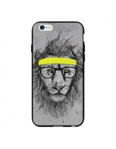 Coque Hipster Lion pour iPhone 6 - Balazs Solti