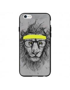 Coque Hipster Lion pour iPhone 6 - Balazs Solti