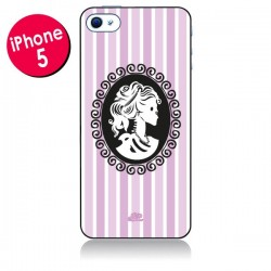 Coque Camée Squelette Rose pour iPhone 5