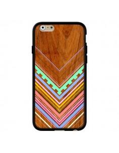 Coque Azteque Arbutus Pastel Bois Aztec Tribal pour iPhone 6 - Jenny Mhairi