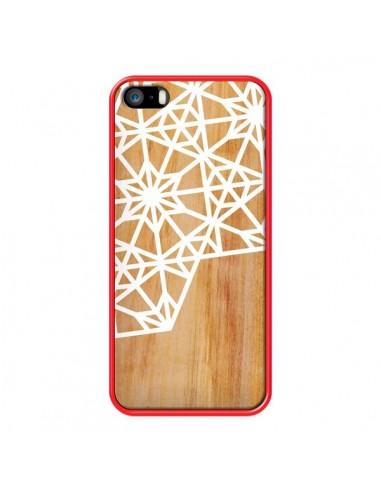 Coque Frozen Stars Etoile Bois Azteque Aztec Tribal pour iPhone 5 et 5S - Jenny Mhairi