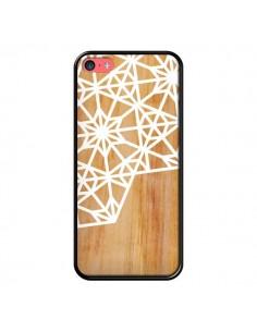 Coque Frozen Stars Etoile Bois Azteque Aztec Tribal pour iPhone 5C - Jenny Mhairi