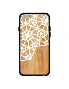 Coque Frozen Stars Etoile Bois Azteque Aztec Tribal pour iPhone 6 - Jenny Mhairi