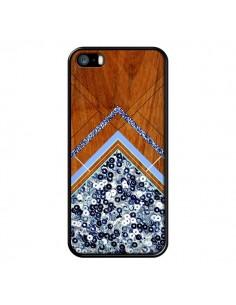 Coque Sequin Geometry Bois Azteque Aztec Tribal pour iPhone 5 et 5S - Jenny Mhairi