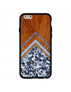 Coque Sequin Geometry Bois Azteque Aztec Tribal pour iPhone 6 - Jenny Mhairi
