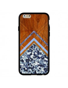 Coque Sequin Geometry Bois Azteque Aztec Tribal pour iPhone 6 - Jenny Mhairi