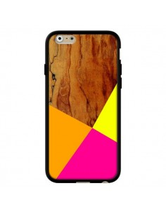 Coque Wooden Colour Block Bois Azteque Aztec Tribal pour iPhone 6 - Jenny Mhairi