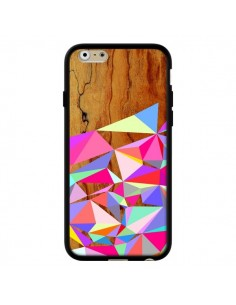 Coque Wooden Multi Geo Bois Azteque Aztec Tribal pour iPhone 6 - Jenny Mhairi