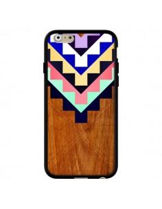 Coque Wooden Tribal Bois Azteque Aztec Tribal pour iPhone 6 - Jenny Mhairi