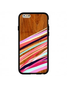 Coque Wooden Waves Coral Bois Azteque Aztec Tribal pour iPhone 6 - Jenny Mhairi