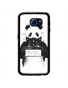 Coque Bad Panda Prison pour Samsung Galaxy S6 - Balazs Solti