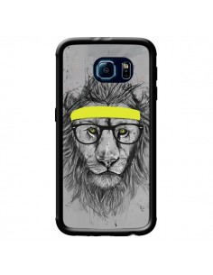Coque Hipster Lion pour Samsung Galaxy S6 - Balazs Solti