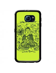 Coque Buddha Listen to your body Love Zen Relax pour Samsung Galaxy S6 - Leellouebrigitte