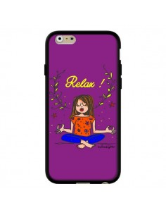 Coque Fille Relax Zen Yoga pour iPhone 6 - Leellouebrigitte