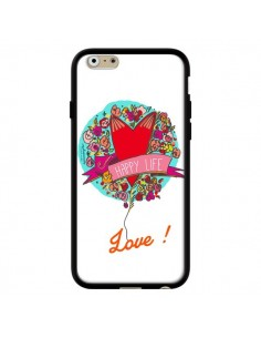 Coque Love Happy Life pour iPhone 6 - Leellouebrigitte