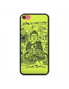 Coque Buddha Listen to your body Love Zen Relax pour iPhone 5C - Leellouebrigitte