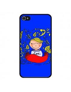 Coque Love Fille pour iPhone 4 et 4S - Leellouebrigitte