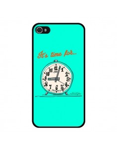 Coque It's time for pour iPhone 4 et 4S - Leellouebrigitte