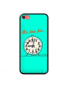 Coque It's time for pour iPhone 5C - Leellouebrigitte