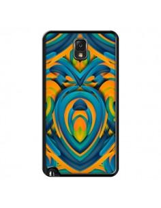 Coque Cross Heart Azteque Cœur pour Samsung Galaxy Note III - Eleaxart