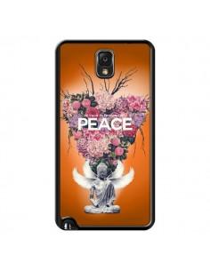 Coque Peace Fleurs Buddha pour Samsung Galaxy Note III - Eleaxart