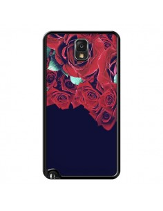 Coque Roses pour Samsung Galaxy Note III - Eleaxart