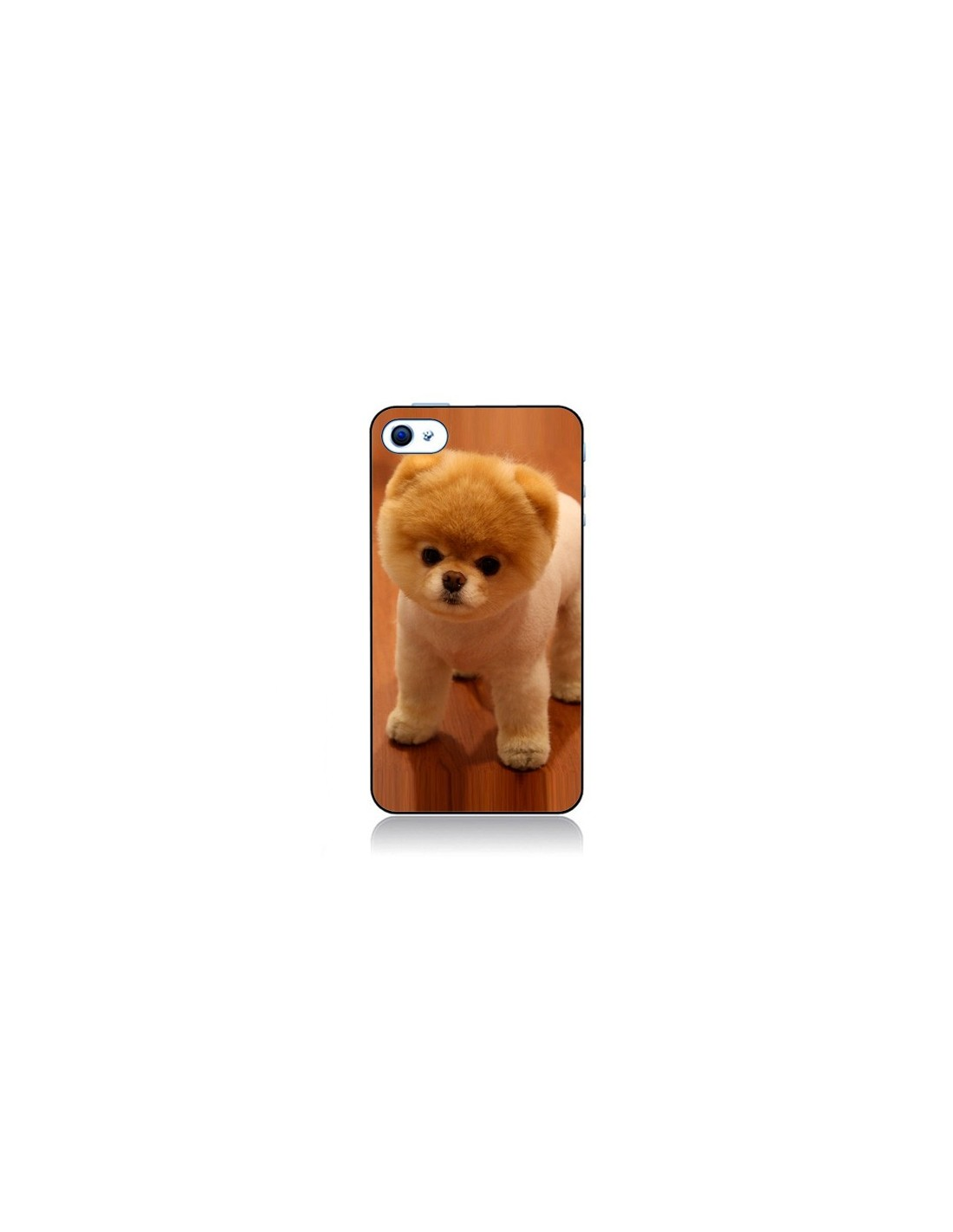coque boo le chien pour iphone 4 et 4s. Black Bedroom Furniture Sets. Home Design Ideas
