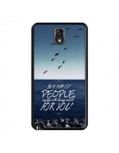 Coque Sea Mer Plage pour Samsung Galaxy Note III - Eleaxart