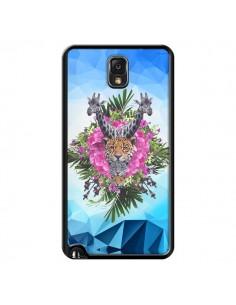 Coque Giraffes Lion Tigre Jungle pour Samsung Galaxy Note III - Eleaxart