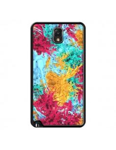 Coque Splashes Peintures pour Samsung Galaxy Note III - Eleaxart