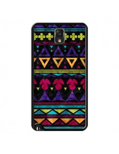Coque Triangles Pattern Azteque pour Samsung Galaxy Note III - Eleaxart