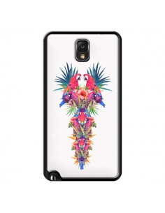 Coque Parrot Kingdom Royaume Perroquet pour Samsung Galaxy Note III - Eleaxart