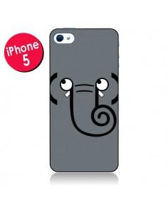 Coque L'Eléphant pour iPhone 5/5S et SE - Nico