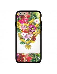 Coque Parrot Floral Perroquet Fleurs pour iPhone 6 - Eleaxart