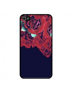 Coque Roses pour iPhone 4 et 4S - Eleaxart
