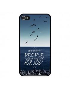 Coque Sea Mer Plage pour iPhone 4 et 4S - Eleaxart