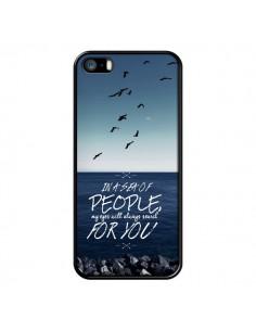 Coque Sea Mer Plage pour iPhone 5 et 5S - Eleaxart