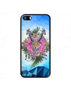 Coque Giraffes Lion Tigre Jungle pour iPhone 5 et 5S - Eleaxart