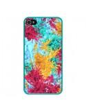 Coque Splashes Peintures pour iPhone 4 et 4S - Eleaxart
