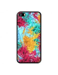 Coque Splashes Peintures pour iPhone 5 et 5S - Eleaxart