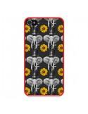 Coque Elephant Tournesol pour iPhone 4 et 4S - Eleaxart