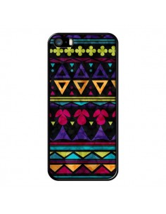 Coque Triangles Pattern Azteque pour iPhone 5 et 5S - Eleaxart