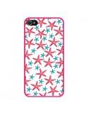 Coque Etoiles de mer Estrellitas pour iPhone 4 et 4S - Eleaxart
