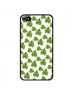 Coque Plantes vertes pour iPhone 4 et 4S - Eleaxart