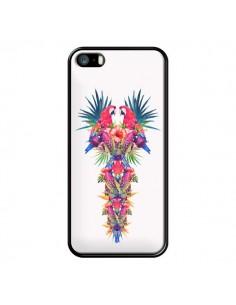 Coque Parrot Kingdom Royaume Perroquet pour iPhone 5 et 5S - Eleaxart